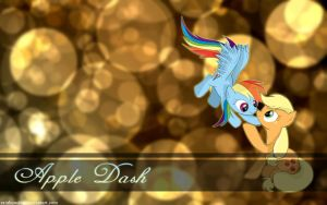 Apple Dash Wallpaper by AmethystHorn