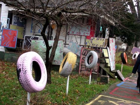 Heidelberg Project- Clock house by 2case