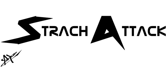 Strach Attack Text Logo Idea by TronicMusic