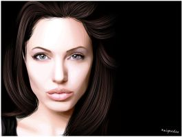 Angelina Jolie by Uniquedee