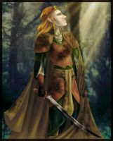 Shadows Lifting over Mirkwood by neffinesse