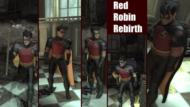 Red Robin Rebirth by ArkhamForever89