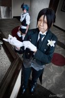 His Butler, Confident by Pisaracosplay