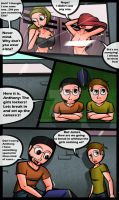 Into the girls locker room: page 1 by TGedNathan