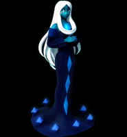 Customized Blue Diamond by MikuMikuKnight
