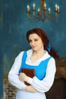 Belle Beauty and the Beast Disney Cosplay by AGflower