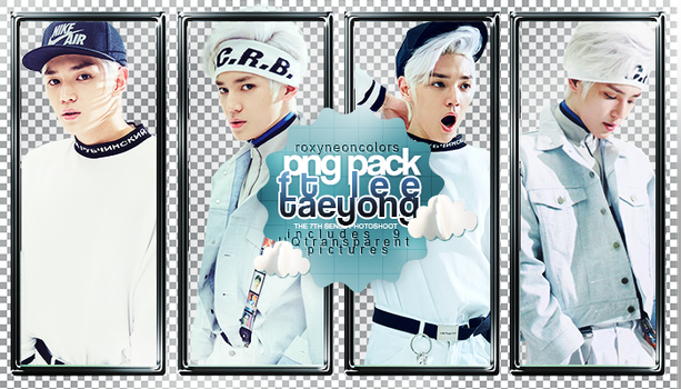 TAEYONG (NCT) THE 7TH SENSE Png pack [072417] by RoxyNeonColors