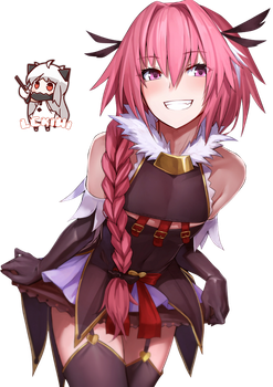 [Fate] Astolfo Render by LCkiWi