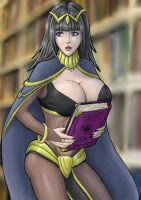 Tharja colored by tj-caris