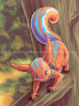 Diary of Ratatoskr_SMITE by CutiChan