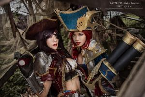 league of legend / Miss Fortune(Captain Fortune) by Julia-MiFei