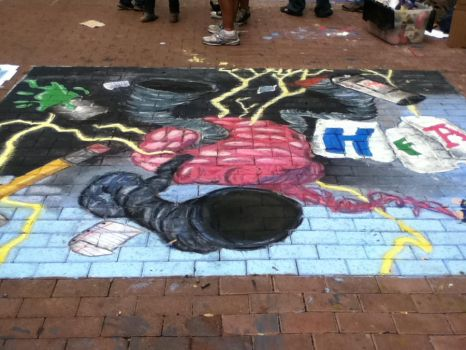 Chalk It Up-Pre-AP Art's Piece by HarajukuCookie