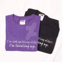 Leveling Up T-shirt by RosaleenDhu
