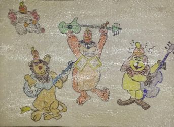 VV 210 Remembering The Banana Splits by handylight