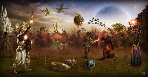 Sward background by vincemuss