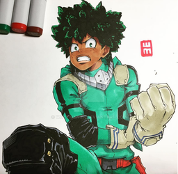 Deku If He Was Black by WhytManga
