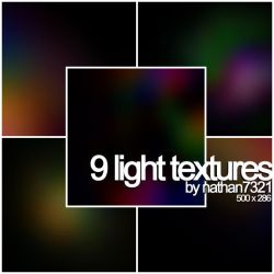 9 light textures by nathan7321