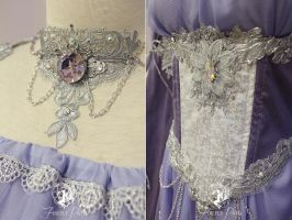 Magic Mirror Gown Details by Firefly-Path