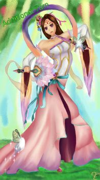 Descent of Fairy Yeonhong  by Lafiafluffy