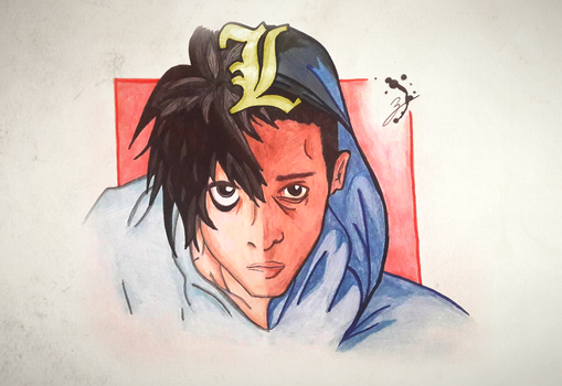 L (Death Note) Anime and Movie by brfa98