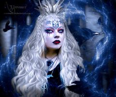 The Raven Woman 2 by annemaria48