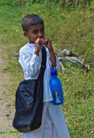 Little Sri Lankan boy... by jennystokes