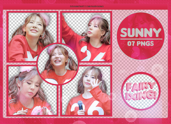 [PNG PACK #834] Sunny - SNSD (170813) by fairyixing