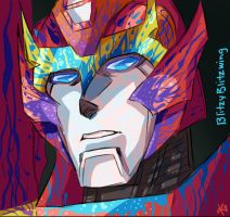 Rodimus color challenge by TheButterfly