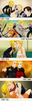 A Series of Firsts by SaveTheQu33n
