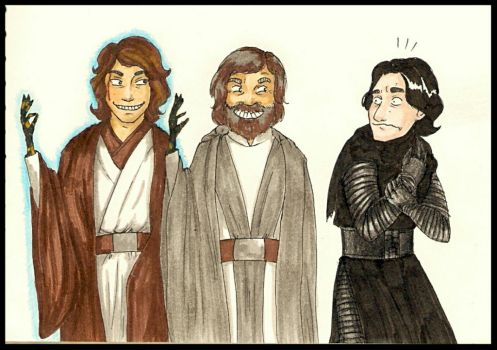 Skywalker's family traditions. by KristyBarka