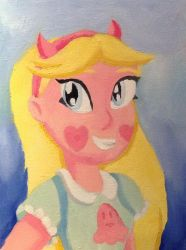 Star Butterfly (Oil Portrait 1) by T-babe
