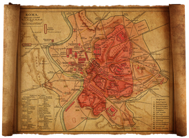 old rome map by HaniSantosa