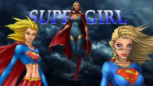 Supergirl Wallpaper - Times 3 a by Curtdawg53
