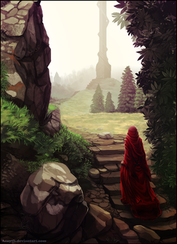 Red hooded by Acayth