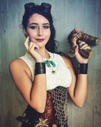 Melody Steampunk Cosplay  by IsabellaCUDA