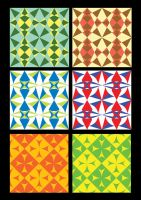 LESOTHO - Textile Designs by SouthernDesigner