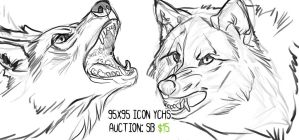 Snarly icon YCHs: CLOSED by Chickenbusiness