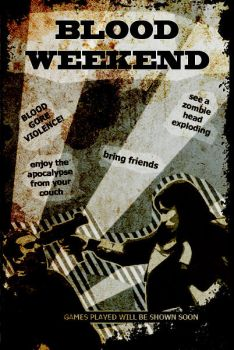 Bloodweekend Flyer by PBStuKKa