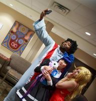Panty and Stocking with Garterbelt: Selfie by firecloak