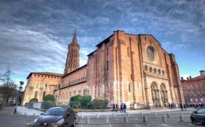Basilique Saint-Sernin - Toulouse by Louis-photos