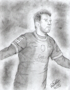 Lionel Messi by GIAN092