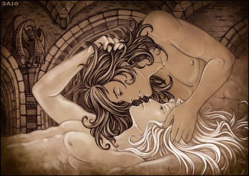 Lovers. by Candra