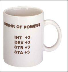 drink of power mug by Neurophoria