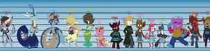 Height chart by Animatics