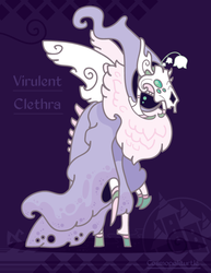Hiraeth Creature #856 - Virulent Clethra by Cosmopoliturtle