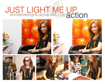 Just Light Me Up Action by wonderdesigns