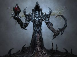 Reaper of Souls /  Maltheal Maquette by MorgansMutations