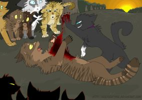 Tigerstar's death. by NonsensicalLogic