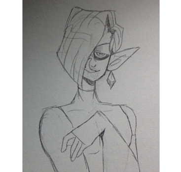 im sorry whenever i draw ghirahim he looks like an by AndroiDoodler