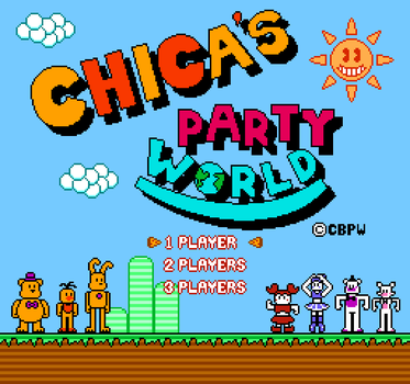 Chica's Party World for the NES by DaHooplerzMan